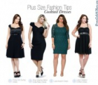Plus Size Fashion Tips: How to Choose Hot Plus Size Cocktail Dresses