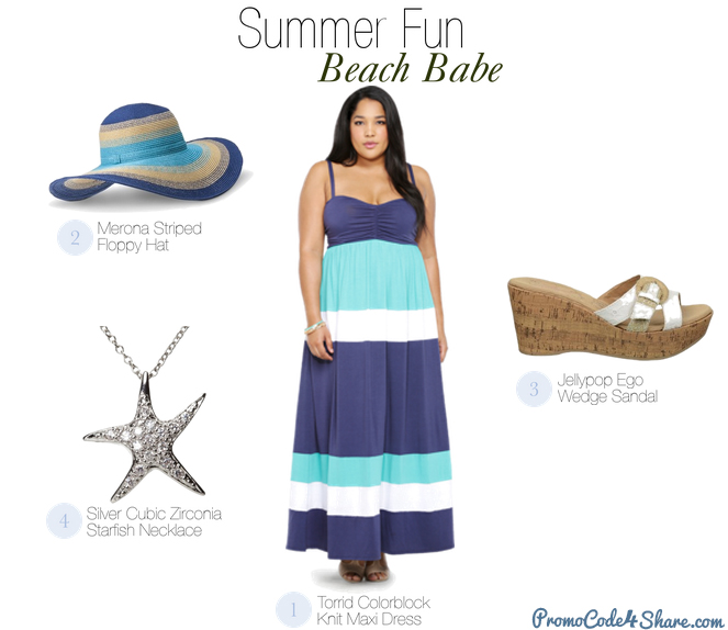 Cute Summer Outfits for Plus Size Babes - Beach Outfit Ideas