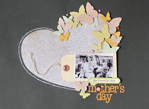 Creative Mother's Day Gifts for Mom - Scapbooking Kit