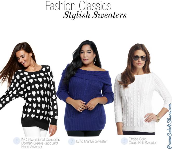 Girls Fashion Classics - Stylish Sweaters