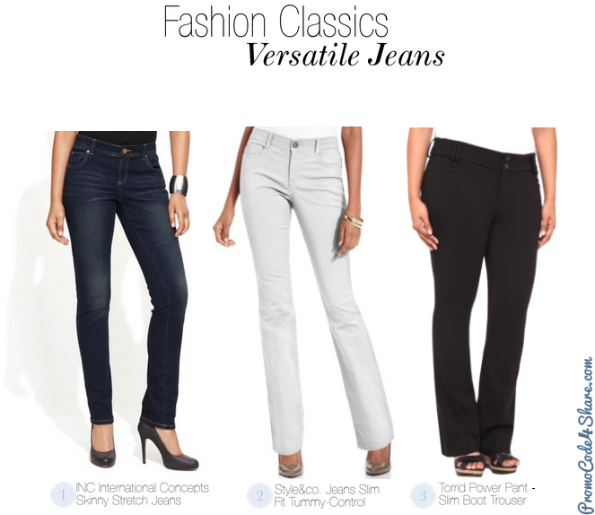 Girls Fashion Classics - Versatile Jeans