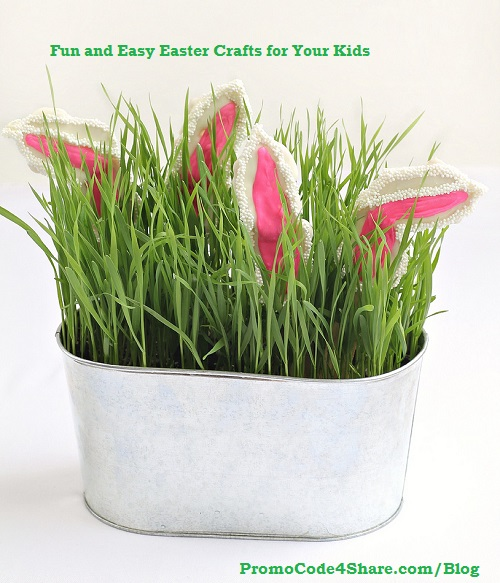 Home Craft Ideas Easter Bunny Flower Pot Craft Flower Pot: 10 Fun And Easy Easter Crafts For Your Kids