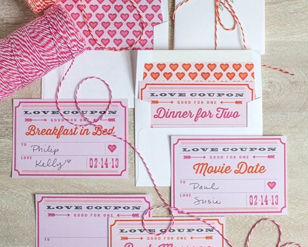 homemade coupons