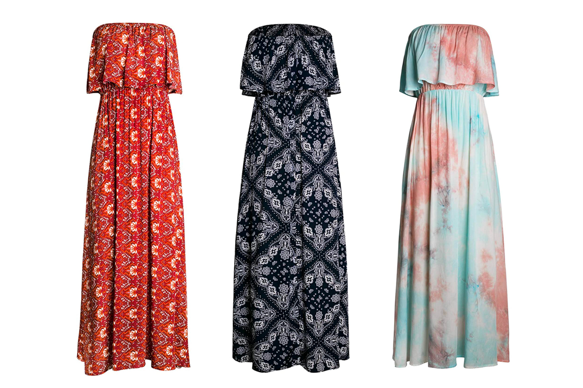 Must have for summer wardrobe - maxi dress