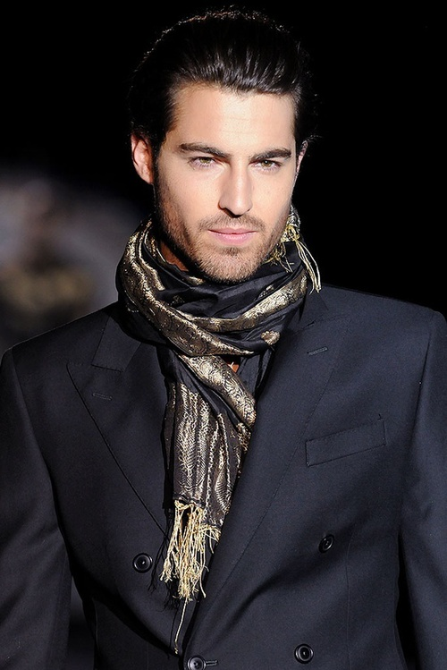 Scarfs Men Scarf And Casual On Pinterest Nice Scarves: Men Wearing Scarves: Why Not?