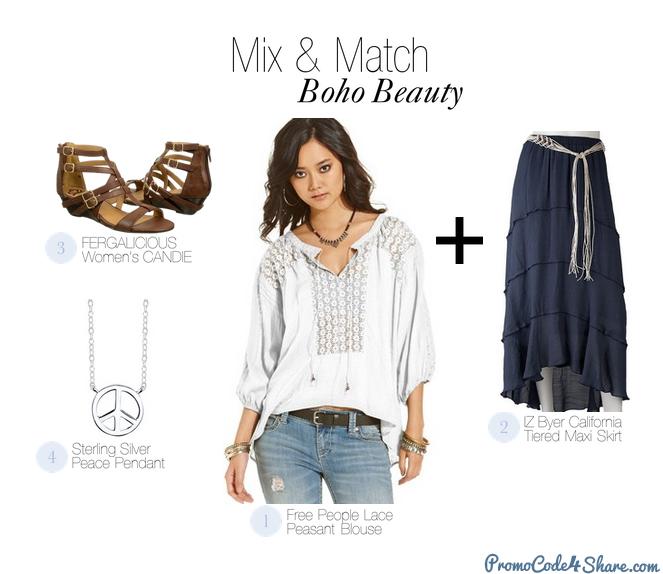 Mix and Match with White Shirts - Boho Beauty
