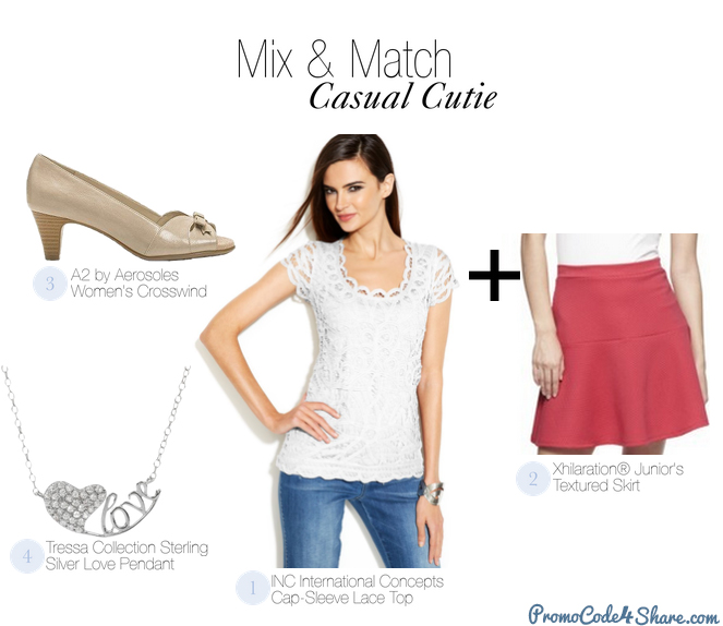 Mix and Match with White Shirts - Casual Cuties
