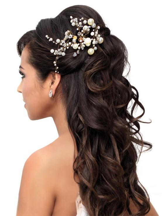 Prom Hairstyles for Girls - Wearing Hair Down