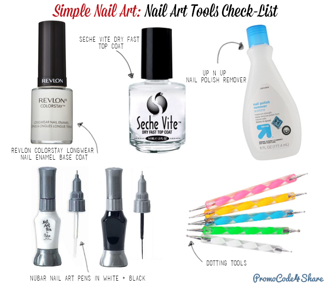 Nail Art Tools Simple