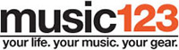 Music123 5% OFF with $25