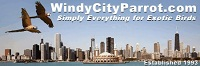 Windy City Parrot 15% Off First Order