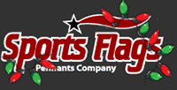 Sports Flags and Pennants 10% Off with $100