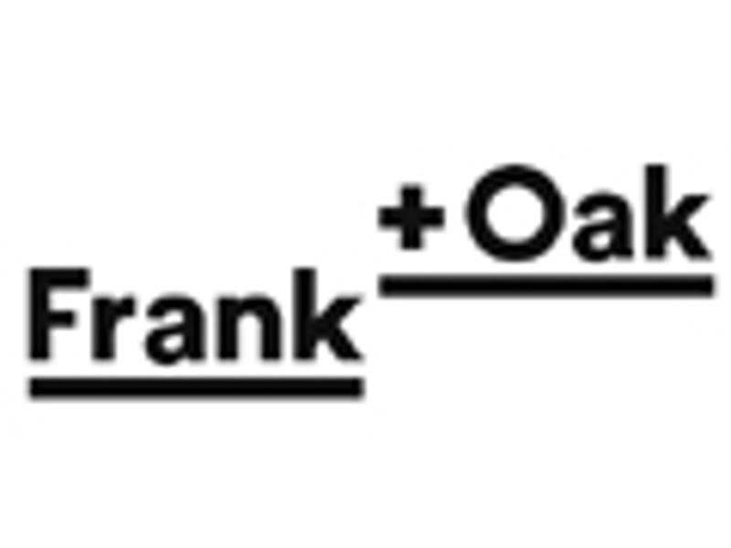 Frank and Oak coupon
