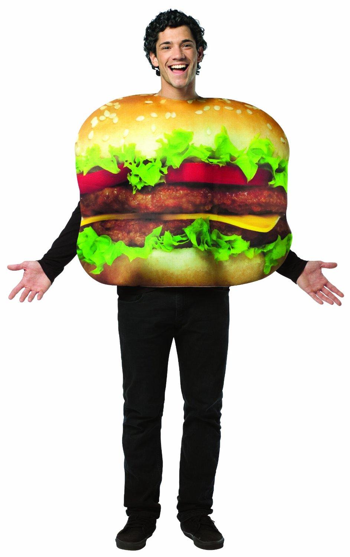 Cheeseburger Halloween Costume